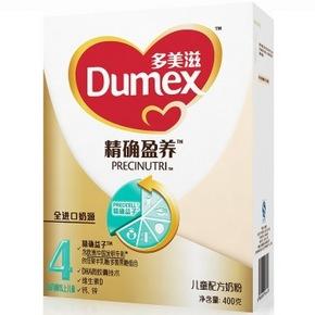 Dumex 多美滋 精确盈养 儿童配方奶粉 4段 400g*6件 180元(买3送3)