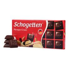 Schogetten 施格特 扁桃仁味夹心巧克力巧克力100g 折4.9元(9.9,买1送1)