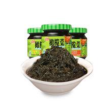 潮州风味# 佳宝 橄榄菜170g*3瓶 16.9元包邮(19.9-3券)