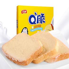 秒杀预告# 华美食品 Q脆面包干180g 1元包邮(限量1000件)