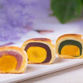 前5分钟# 知味观 月赏巴黎 蛋黄酥 月饼礼盒 300g 39.9元包邮(59.9-20)