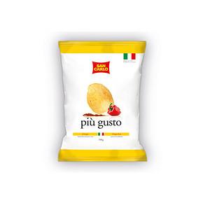 限地区# 意大利 圣卡罗 经典香辣风味薯片 150g 折4.9元(9.9,99-50)