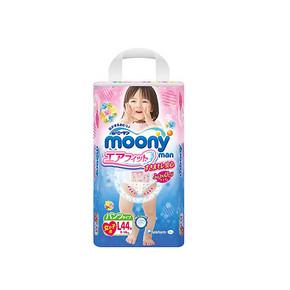 日本 MOONY 尤妮佳 婴儿拉拉裤 女 L44片 折79.6元(3件9折+税)