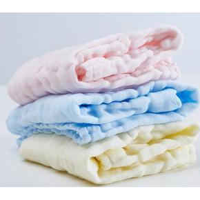 活力鸭  婴儿纱布口水巾  3条装  9.9元包邮
