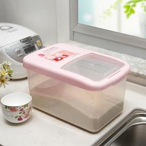 防虫防蛀# 迪迪龙 加厚滑盖塑料米桶12kg 13.8元包邮(19.9-6.1)
