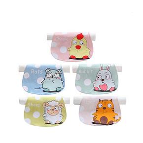 活力鸭 十二生肖4层婴儿吸汗巾 5条装 12.9元包邮(15.9-3券)