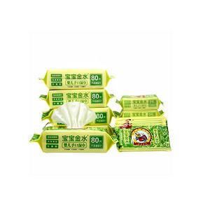 宝宝金水 婴儿柔湿巾 共500抽 折27.9元(39.9,188-60)