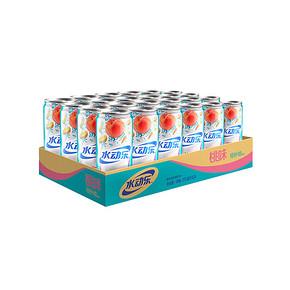 水动乐 摩登罐 桃味营养素饮料 310ml*24罐 34.9元