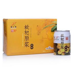 福仁缘 枇杷原浆饮料 枇杷果汁 245ml*6听 11.9元