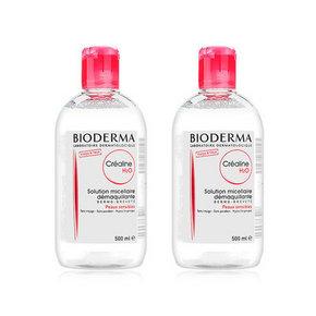 Bioderma 贝德玛 深层舒妍卸妆水 红 500ml*2瓶 161元包邮(159-15券+税)