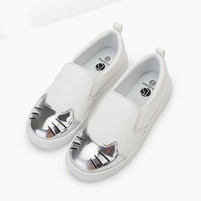 懒人鞋# 桃涩 儿童休闲一脚蹬单鞋39.8元包邮(99-19.2-40券)