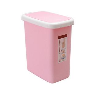 折8.5元/个# 鸿然 有盖欧式家用塑料垃圾桶 10L*3个 25.4元包邮(35.4-10券)
