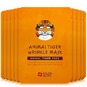 韩国 SNP 动物面膜 老虎 10片*4盒 201元包邮(125*4-299)