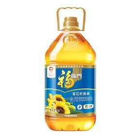 福临门 葵花籽原香食用调和油 5L 38.9元