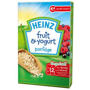 Heinz 亨氏 乳酪水果米糊 125g 7.3元(5.9+1.4)