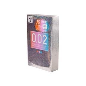 啪到心花怒放# 冈本 002超薄炫彩安全避孕套 6只装 39元包邮