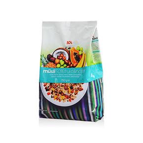 瑞典 ICA 45%混合水果燕麦片 750g 49.9元