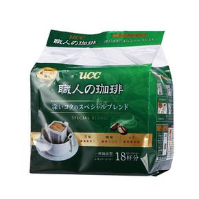 UCC 悠诗诗  滴滤式职人咖啡粉 7g*18袋*2件 79.9元(买1送1)