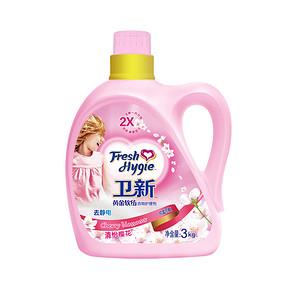 卫新 清怡樱花衣物护理剂 金装 3kg  19.9元