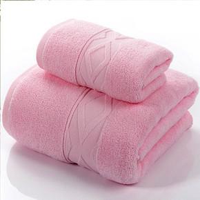 前5分钟立减# 百事甜 纯棉浴巾+毛巾套巾 20.9元包邮(25.9-5)