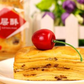 正得顺  营养红豆千层酥软面包 1000g 23.8元包邮(28.8-5券)