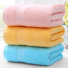 洁丽雅 纯棉吸水浴巾 140*70cm 19.9元包邮(29.9-10券)