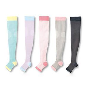 水肿腿必备# CECILE 日本制 晚安压力瘦腿袜 60.8元包邮(54.4+6.4)