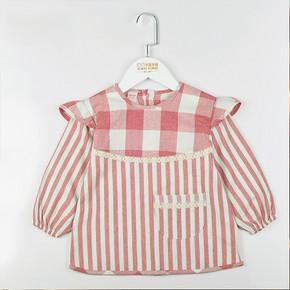 衣服不怕脏# 卡茜卡琦 儿童防水纯棉罩衣 8.8元包邮(23.8-15券)