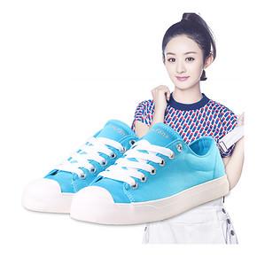 赵丽颖代言# 梵不凡 低帮女帆布单鞋 19.9元包邮(49.9-30券)