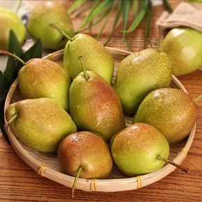 前1分钟# 美味山果 新鲜香酥脆梨 5斤 约20只 1日0点 11.9元包邮(19.9-8)