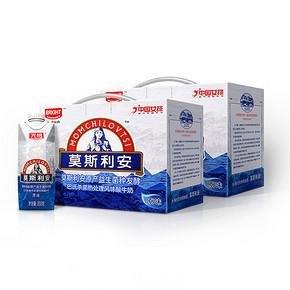 前3分钟# 光明 莫斯利安常温酸奶 350g*6盒*2提 49.9元包邮(59.9-10)