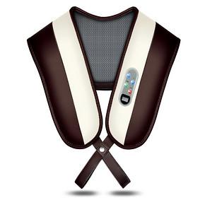 艾格斯 颈肩部按摩捶打热敷披肩 39元包邮(69-30券)