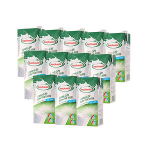 德国进口 Hochwald 好沃得低脂牛奶 1L*12盒 69元