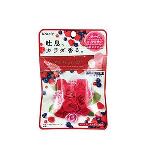 约会神器# Kracie嘉娜宝 玫瑰香体糖 9.9元包邮(3件起售)