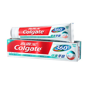 Colgate 高露洁 360°全面口腔健康牙膏 200g  折9.9元(买2减1)