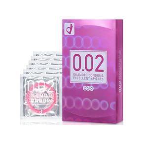 手握性福# 日本冈本 002EX系列 粉色型安全套 6只/盒 折34.9元(39.9*6-30+税)