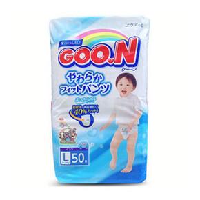 GOO.N 大王 维E系列 拉拉裤 男 L50片 89元(79+10)