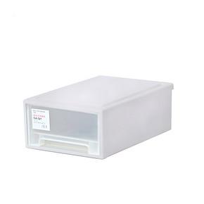 整理达人# 美加宁 透明夹缝抽屉式收纳盒 9.9元包邮