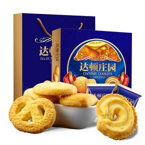 达顿庄园 西式曲奇饼干 508g 15.9元包邮(20.9-5券)