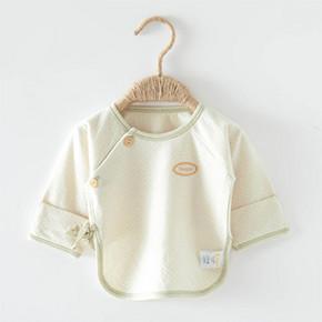 童泰 彩棉初生婴儿长袖内衣 9.8元包邮(19.8-10券)