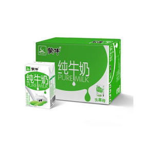 微信端/限地区# 蒙牛 纯牛奶 250ml*16盒 29.9元