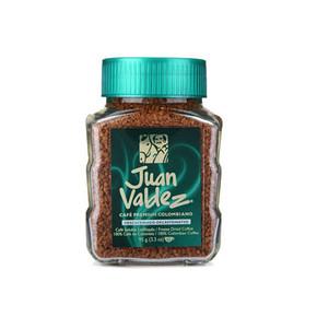 哥伦比亚进口 胡安·帝滋 冻干速溶脱因咖啡 95g 49.9元