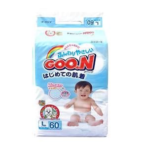 日本进口 GOO.N 大王 纸尿裤 L60片 折79.9元(89.9,399-50)