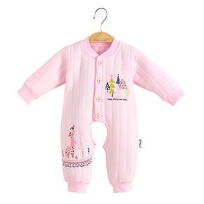 钓鱼猫 婴儿纯棉长袖连体衣  19.4元包邮(39.8-0.4-20券)