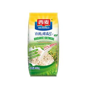 西麦 有机燕麦片 400g 9.9元