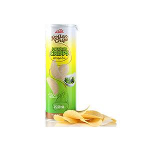 Roller Chips 过山车 芥末味薯片 160g*10件 49元(9.9*10-50券)