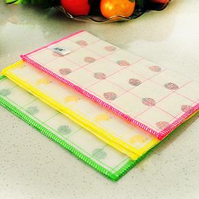 三清 竹纤维抹布洗碗巾 3片 6.8元包邮(9.8-3券)