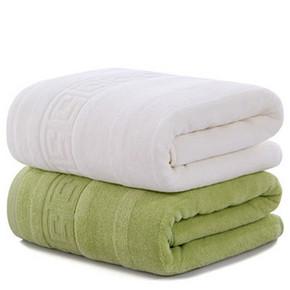 前3分钟# 图强 纯棉加厚浴巾2条装 19.5元(39-19.5)