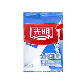 光明 全脂奶粉 400g 折17.7元(32,199-100)