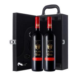 金皇冠 精选红葡萄酒 750ml*2瓶 88元
